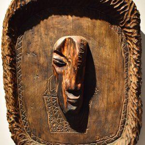 Wooden Portrait 23 - Bui Duc