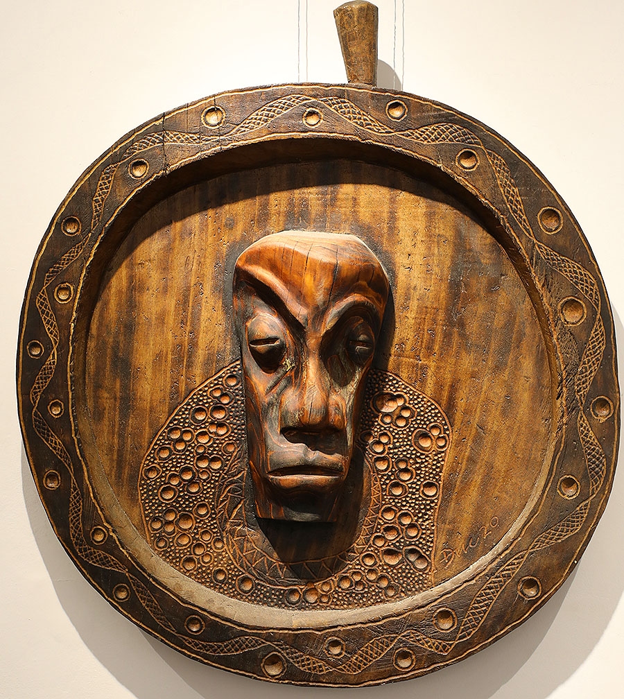 Wooden Portrait 25 - Bui Duc