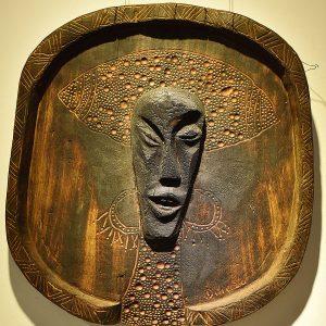 Wooden Portrait 27 - Bui Duc