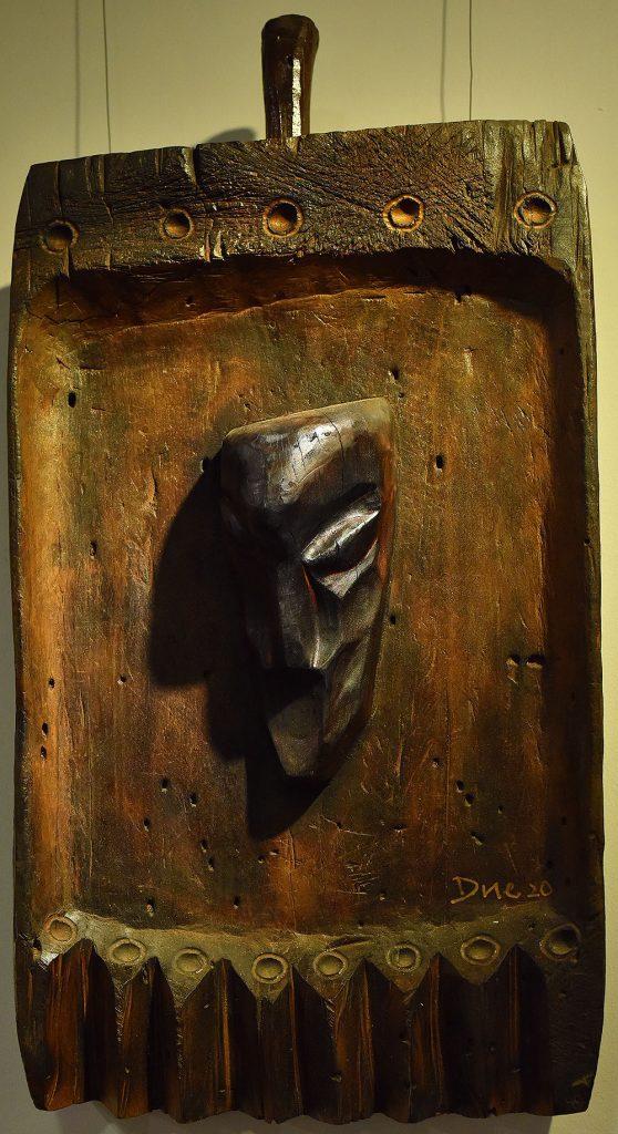 Wooden Portrait 28 - Bui Duc