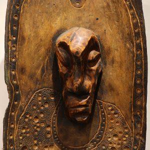 Wooden Portrait 29 - Bui Duc