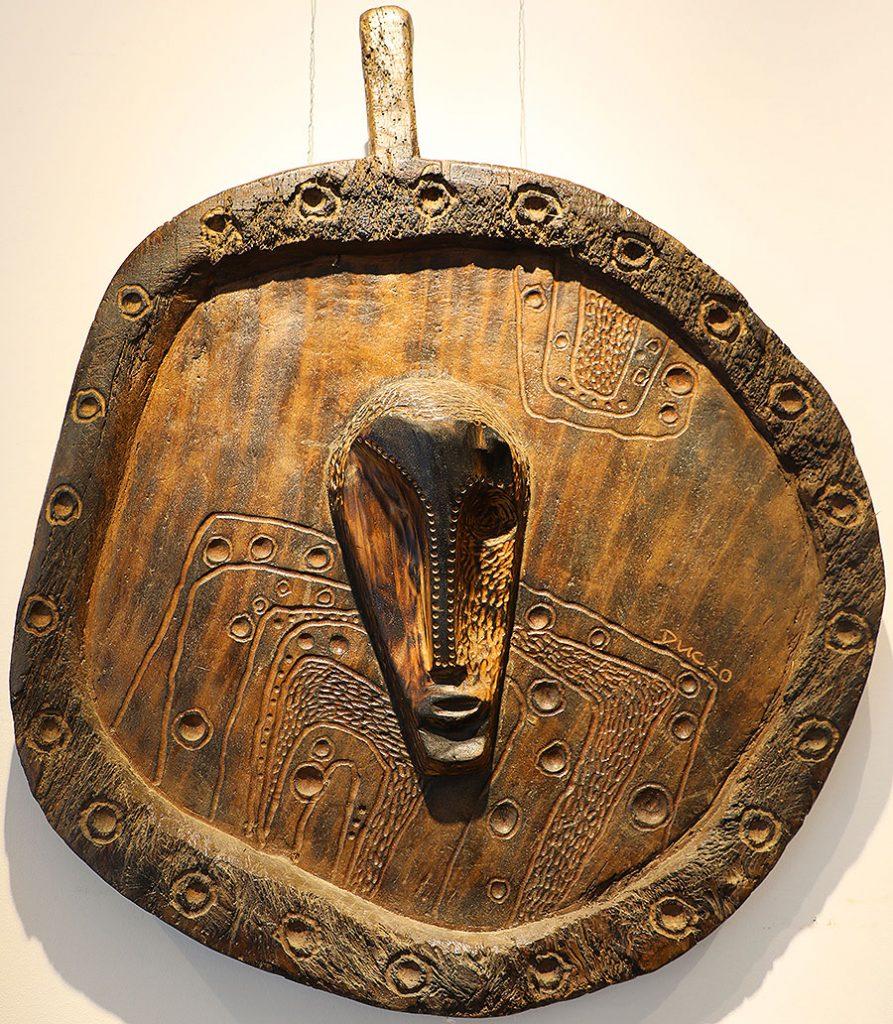 Wooden Portrait 31 - Bui Duc