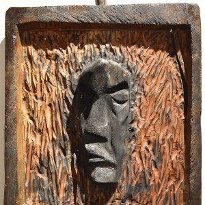 Wooden Portrait 32 - Bui Duc