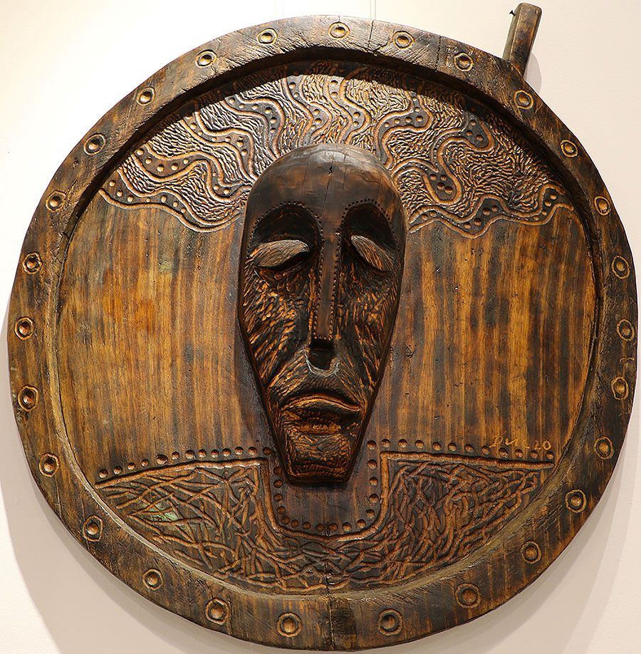 Wooden Portrait 36 - Bui Duc
