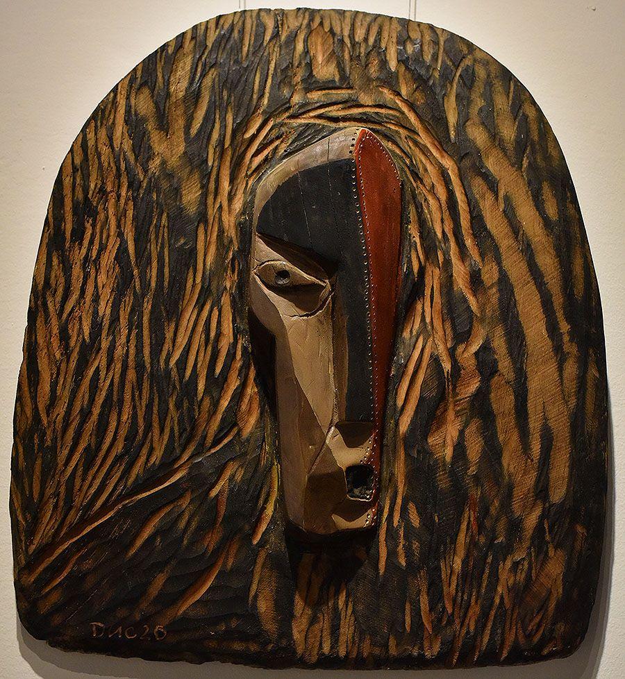Wooden Portrait 37 - Bui Duc
