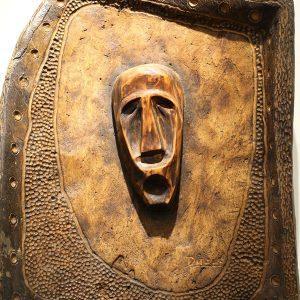 Wooden Portrait 38 - Bui Duc