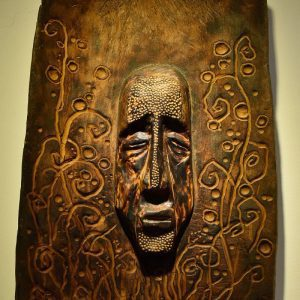 Wooden Portrait 40 - Bui Duc