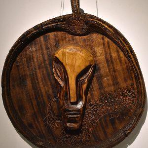 Wooden Portrait 41 - Bui Duc