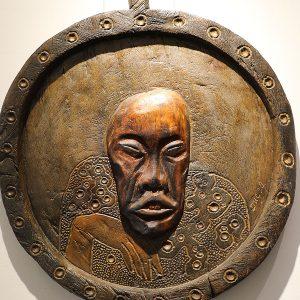 Wooden Portrait 43 - Bui Duc