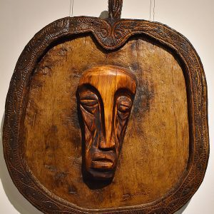 Wooden Portrait 44 - Bui Duc