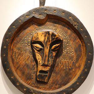 Wooden Portrait 45 - Bui Duc