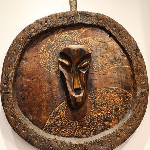 Wooden Portrait 46 - Bui Duc