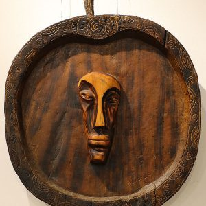 Wooden Portrait 47 - Bui Duc