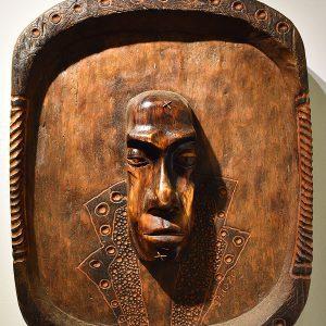 Wooden Portrait 48 - Bui Duc