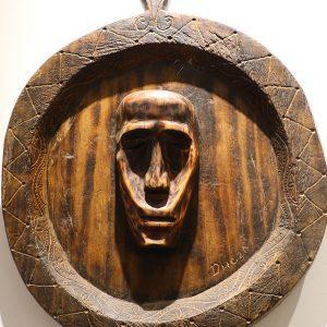 Wooden Portrait 50 - Bui Duc