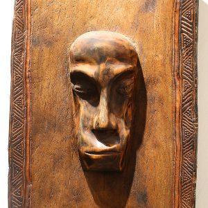 Wooden Portrait 51 - Bui Duc