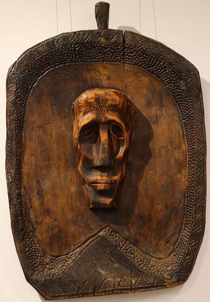 Wooden Portrait 52 - Bui Duc