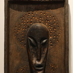 Wooden Portrait 54 - Bui Duc
