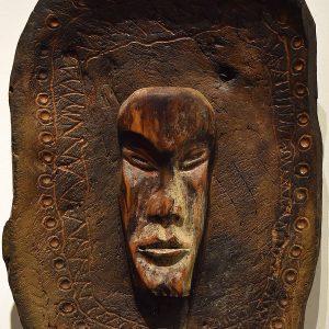 Wooden Portrait 56 - Bui Duc