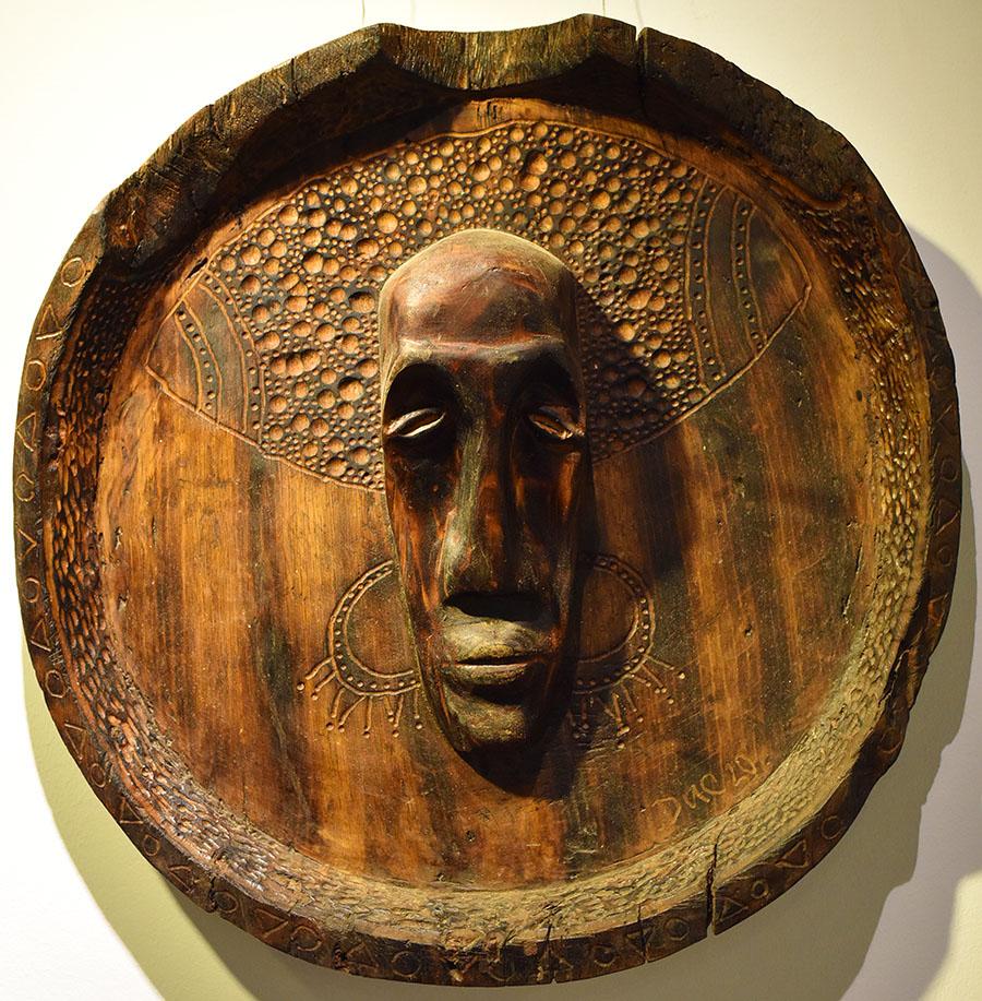 Wooden Portrait 57 - Bui Duc