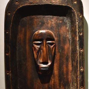 Wooden Portrait 74 - Bui Duc