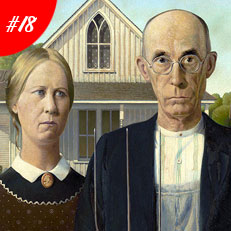 World Famous Paintings American Gothic