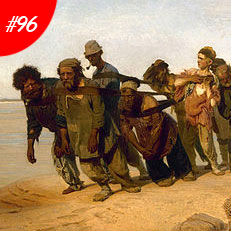 World Famous Paintings Barge Haulers On The Volga