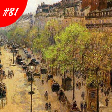 World Famous Paintings Boulevard Montmartre Spring