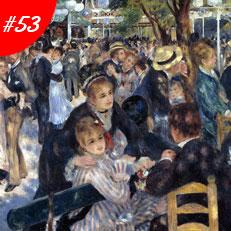 World Famous Paintings Dance At The Moulin De La Galette