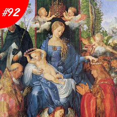World Famous Paintings Feast Of The Rosary