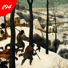 World Famous Paintings Hunters In The Snow