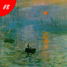 World Famous Paintings Impression Sunrise