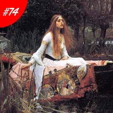 World Famous Paintings Lady Of Shalott