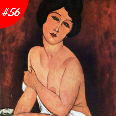 World Famous Paintings Large Seated Nude