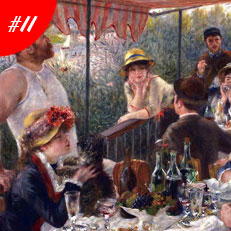 World Famous Paintings Luncheon Of The Boating Party
