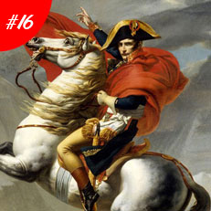 World Famous Paintings Napoleon Crossing The Alps