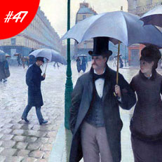 World Famous Paintings Paris Street In Rainy Weather