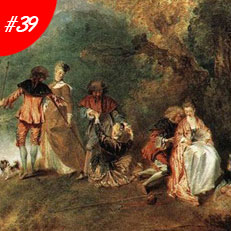 World Famous Paintings Pilgrimage To Cythera