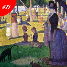 World Famous Paintings Sunday Afternoon On The Island Of La Grenda Jatte