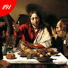 World Famous Paintings Supper At Emmaus