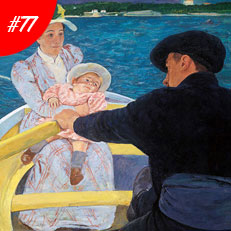World Famous Paintings The Boat Trip