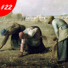 World Famous Paintings The Gleaners