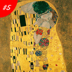 World Famous Paintings The Kiss