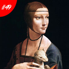 World Famous Paintings The Lady With The Ermine