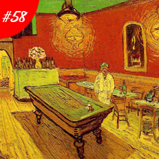 World Famous Paintings The Night Cafe