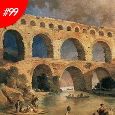World Famous Paintings The Pont Du Gard