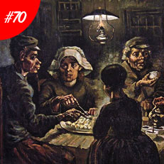 World Famous Paintings The Potato Eaters