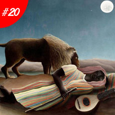World Famous Paintings The Sleeping Gypsy