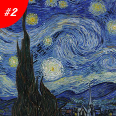 World Famous Paintings The Starry Night