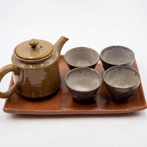 Yesenia Tea Pot and Cups